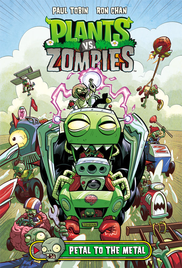 PLANTS VS ZOMBIES PETAL TO THE METAL HC (MAY160046)