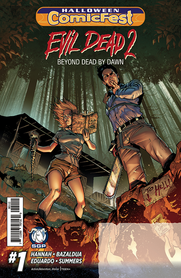 HCF 2016 EVIL DEAD 2 #1 (OF 3) BEYOND DEAD BY DAWN 2ND PTG
