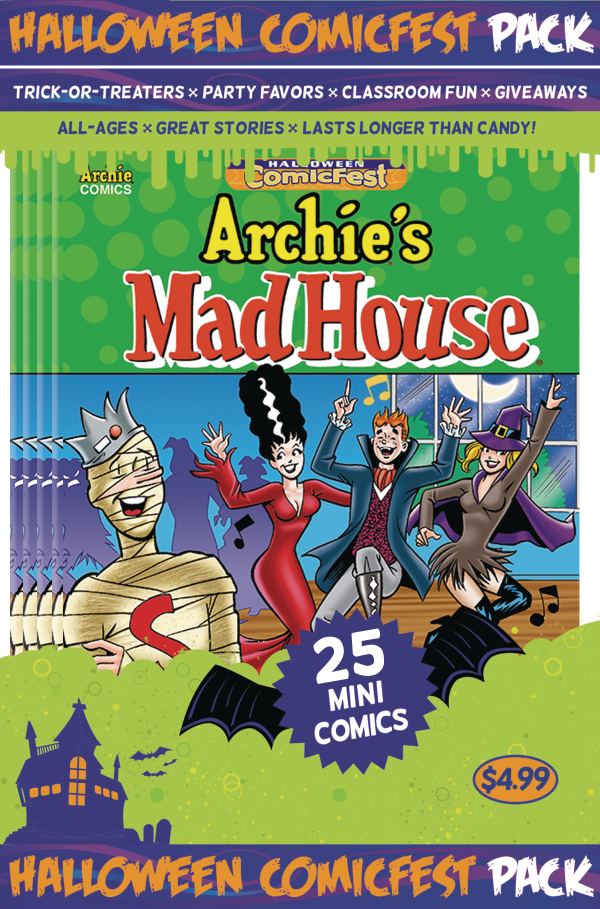 HCF 2016 ARCHIES MADHOUSE MINI COMIC POLYPACK