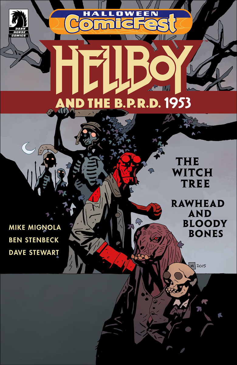 HCF 2017 HELLBOY BPRD 1953 WITCH TREE RAWHEAD BLOODY BONES