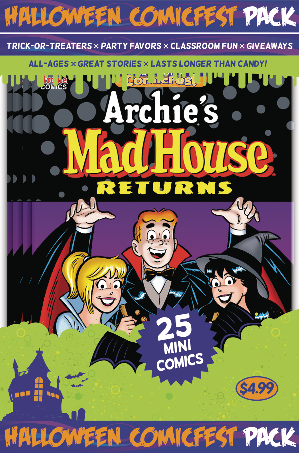 HCF 2017 ARCHIES MADHOUSE MINI COMIC POLYPACK