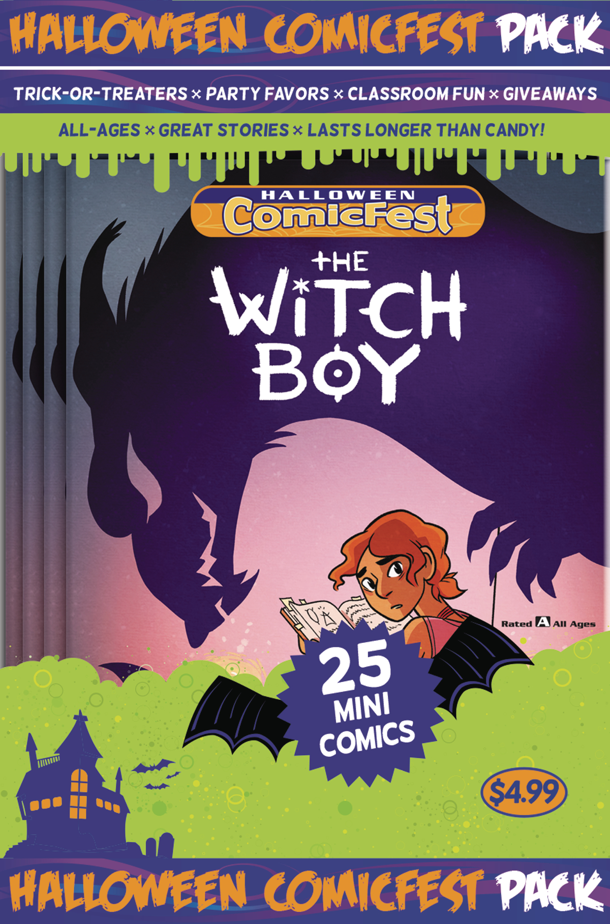 HCF 2017 WITCH BOY MINI COMIC POLYPACK