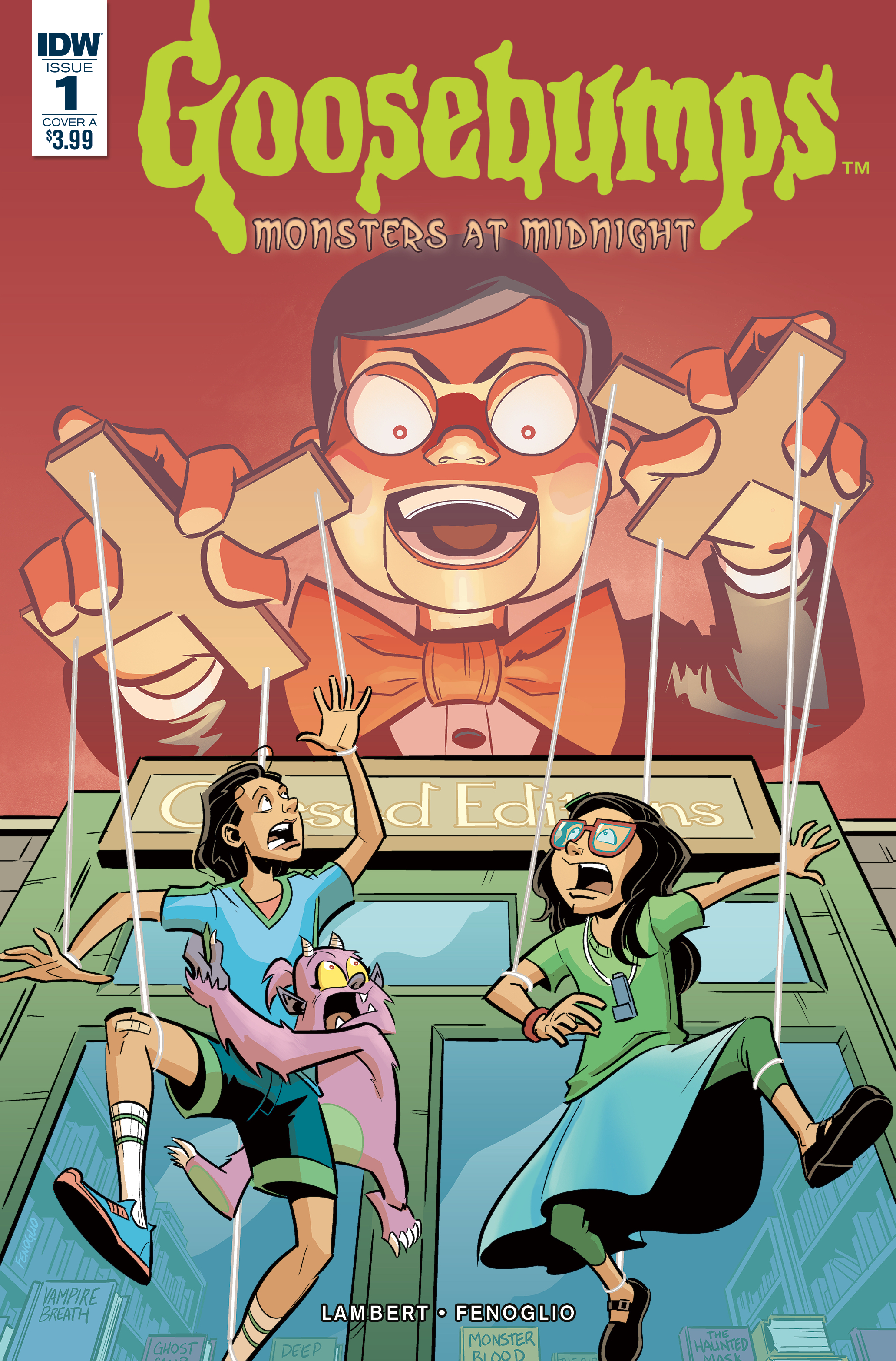 GOOSEBUMPS MONSTERS AT MIDNIGHT #1