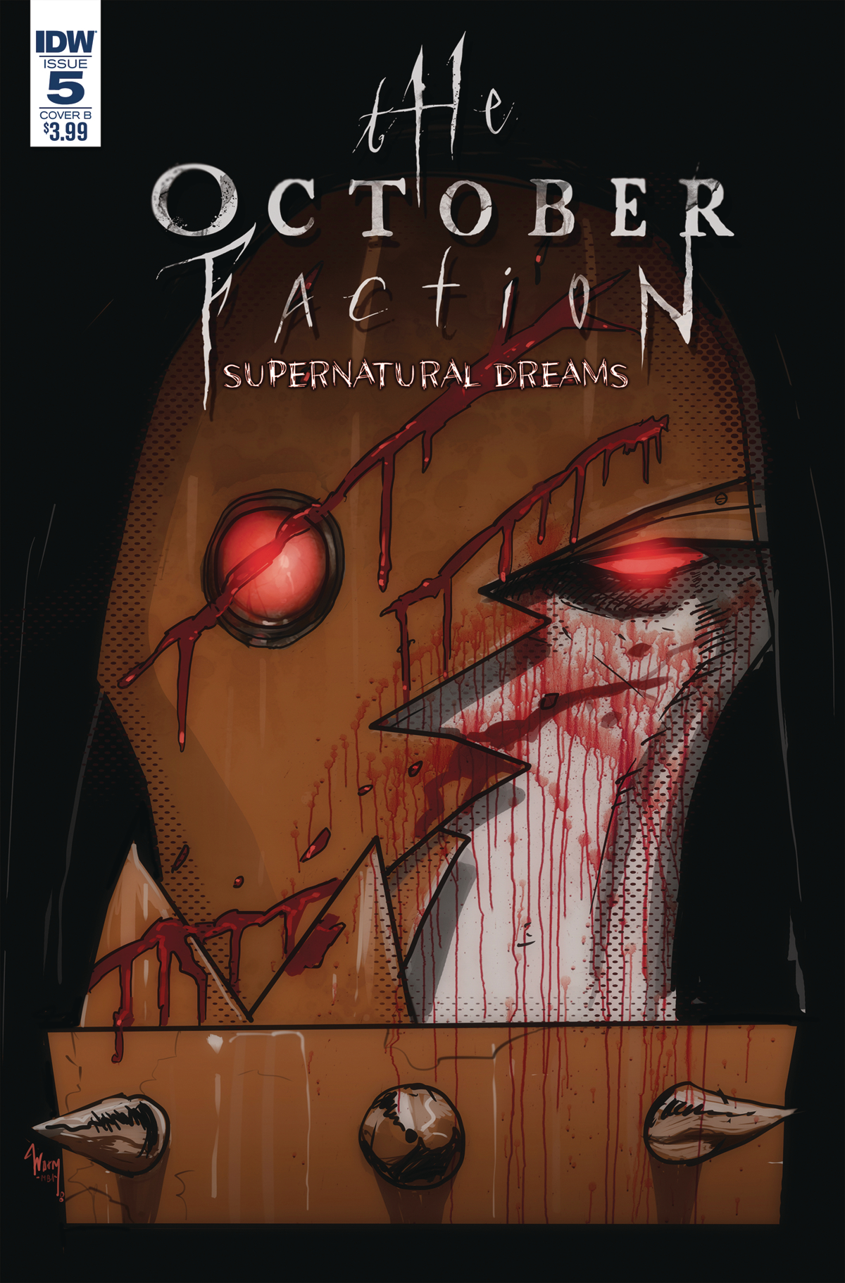 OCTOBER FACTION SUPERNATURAL DREAMS #5 CVR B WORM