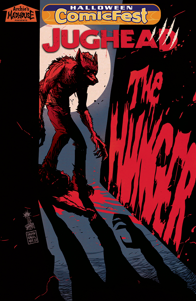HCF 2018 JUGHEAD THE HUNGER #1 B&W  (MR)