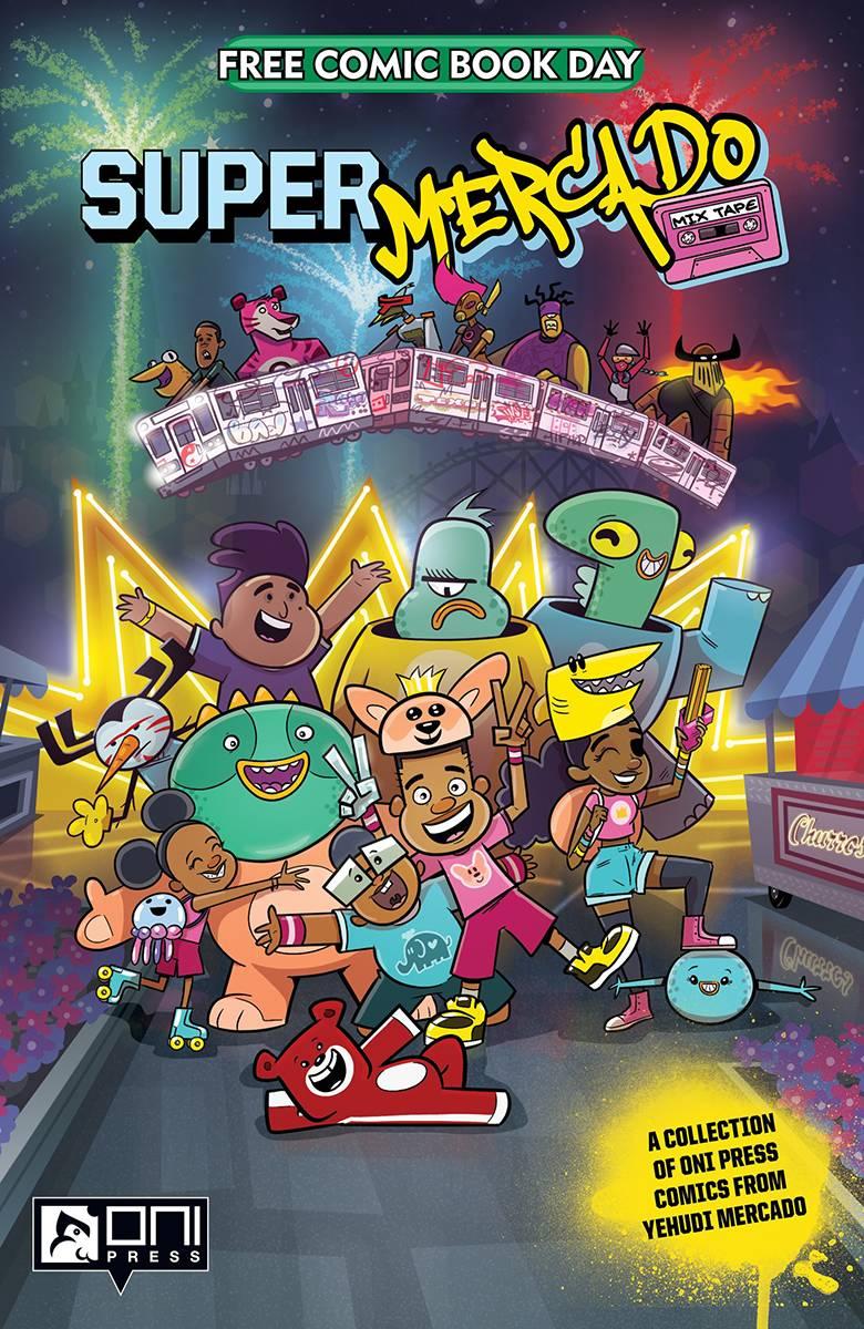 Mercado Halloween Events 2020 JAN200035   FCBD 2020 SUPER MERCADO MIX TAPE   Halloween Comic Fest