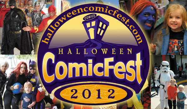 Celebrate Halloween in Comic Shops