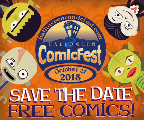 Halloween ComicFest, HCF, Save the Date, 2018