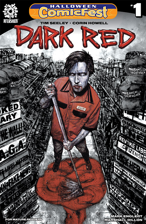 Halloween ComicFest, HCF, Dark Red, AfterShock